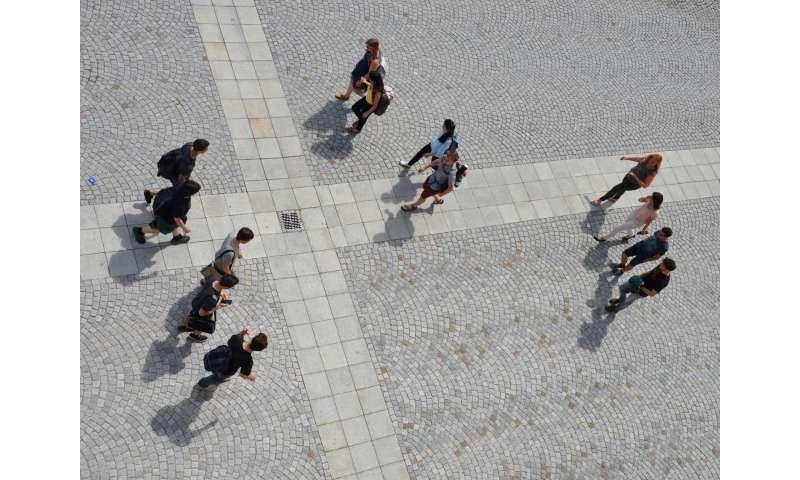 Mathematical algorithms calculate social behavior