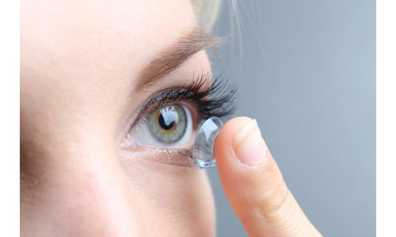 New insights into human tears could improve contacts lenses, researchers say