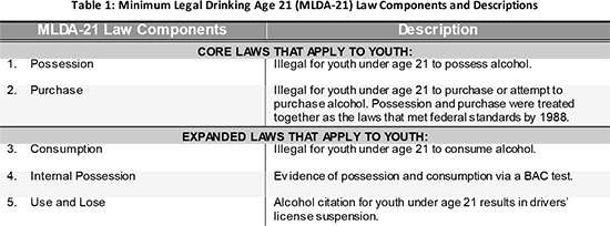 New research reveals nine laws particularly effective in reducing underage drinking fatalities