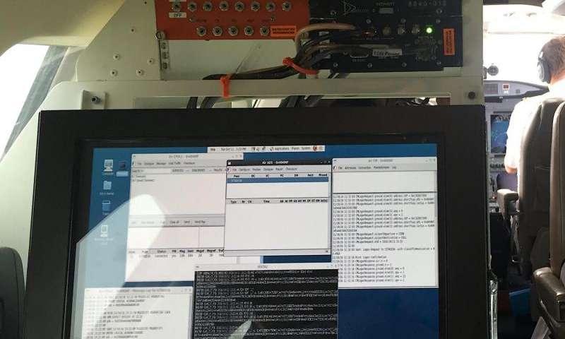 Preparing for air traffic control via satellite