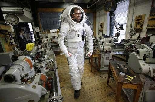 Rhode Island School of Design works with NASA on Mars suit