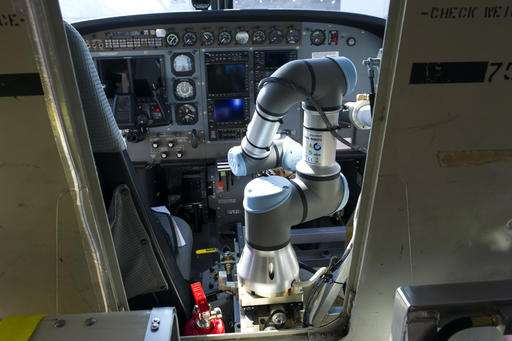 That pilot in the cockpit may someday be a robot