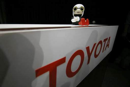 Toyota's tiny robot sells for under $400, talks, can't drive