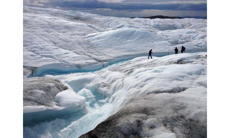 Researchers discover fate of melting glacial ice in Greenland