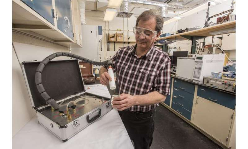 Portable NIST kit can recover traces of chemical evidence