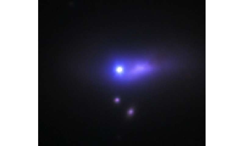 First discovery of a binary companion for a Type Ia supernovae