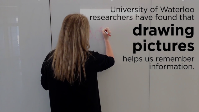Need to remember something? Better draw it, study finds