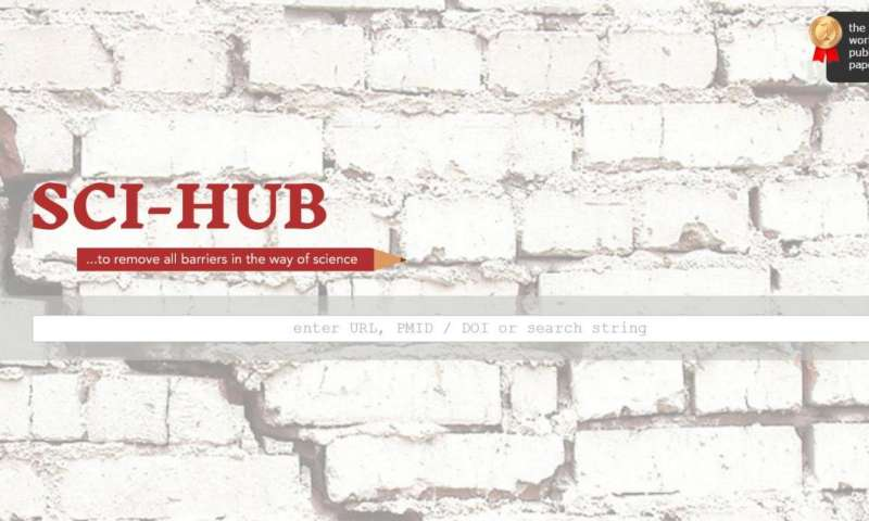 Investigative report offers statistics and opinions on Sci-Hub
