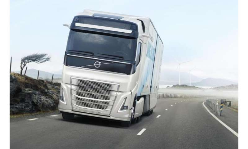 volvo trucks 39 new concept truck cuts fuel consumption by more than 30. Black Bedroom Furniture Sets. Home Design Ideas