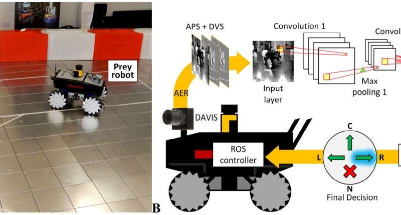 Teaching robots to hunt down prey like an animal