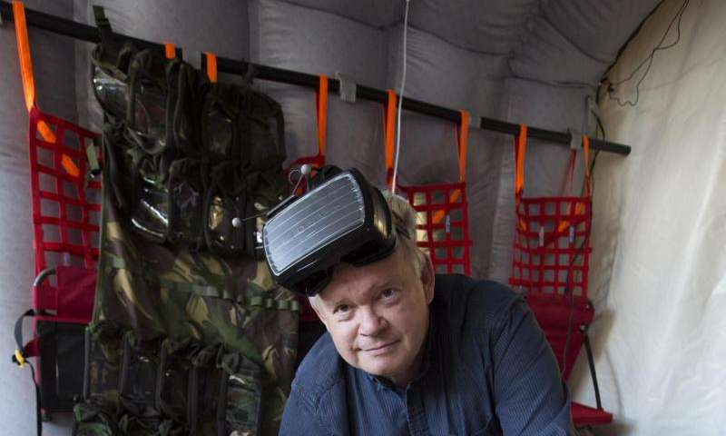 Virtual reality 'Chinook' to help train medics in UK Armed Forces