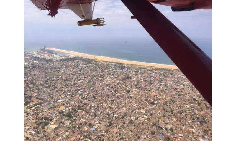 Scientists take to the skies to track West African pollution