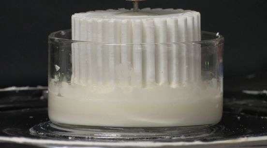Tame your Oobleck: Researcher able to control thickening