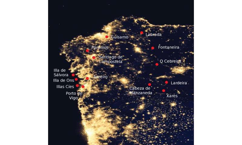 Light detector system finds light pollution makes skies 20 times brighter in some areas