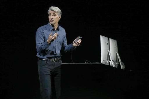 Glance: Apple unveils messaging app, improvements to Siri