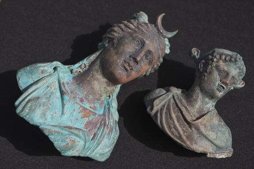 Israeli divers uncover trove of shipwrecked Roman treasure