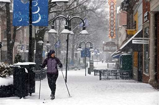 It starts postcard-pretty, but this snowstorm is deadly