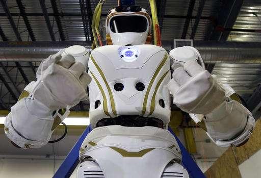 NASA's Valkyrie robots set the table for human life on Mars