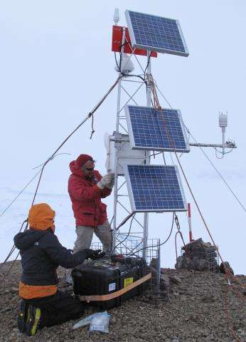 Researchers to test new Antarctic weather station on frozen Colorado lake