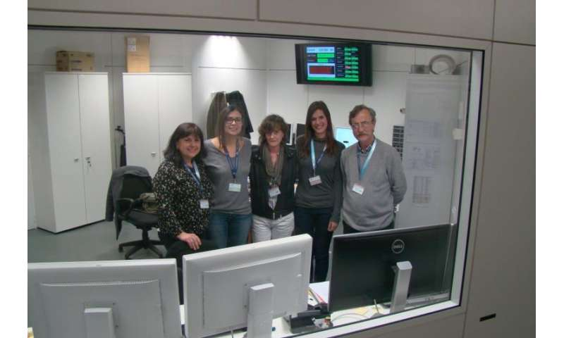 Research team studies the velvet effect of chocolate at the Alba Synchrotron Radiation Facility