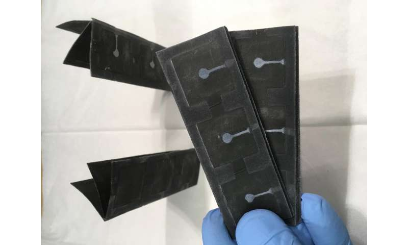 Scientists build bacteria-powered battery on single sheet of paper