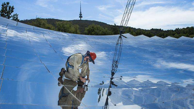 Scientists set solar thermal record