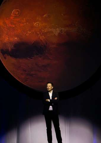 SpaceX chief Elon Musk plans to send an unmanned spaceship to Mars by 2018 as part of his quest to colonise the Red Planet with