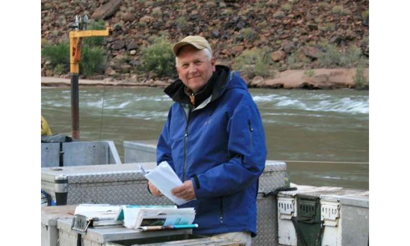 Utah State University Professor Jack Schmidt, Center for Colorado River Studies