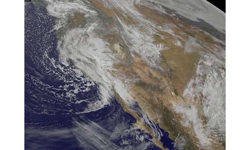 NASA analyzes US Pacific Northwestern storm system