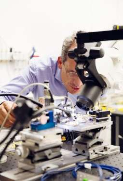 Scientists work on an alternative to carry data