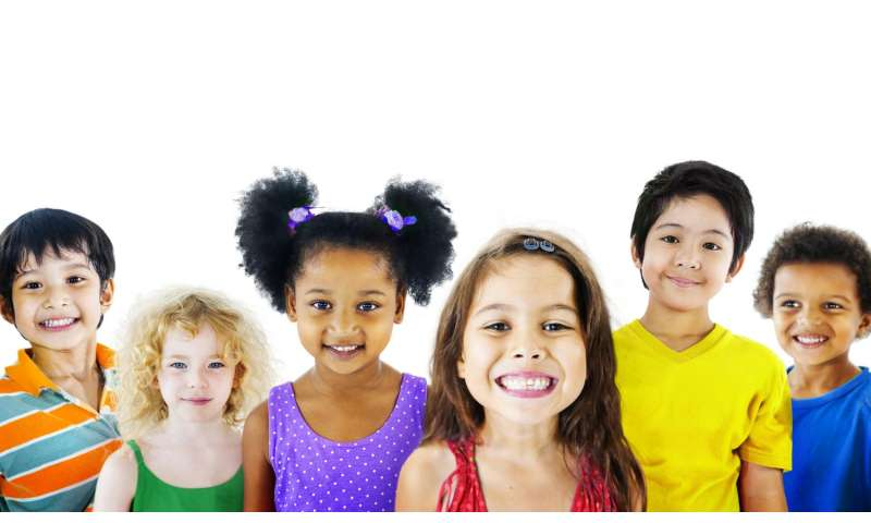 Study provides insight into children's race and gender identities