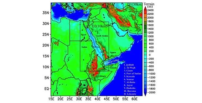 Reconstructing the Red Sea's climate patterns