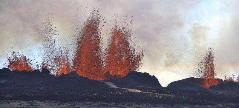 Researchers monitored seismic shocks that preceded Iceland's biggest volcanic eruption in 200 years