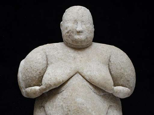 8,000-year-old female figurine uncovered in central Turkey