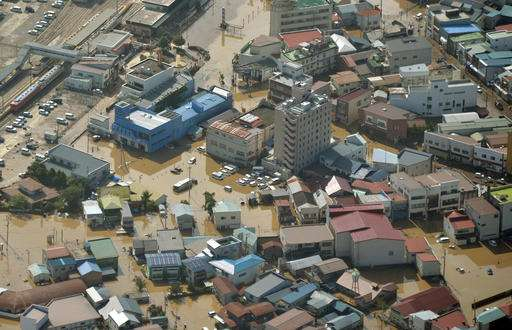 At least 9 dead as typhoon hits northern Japan
