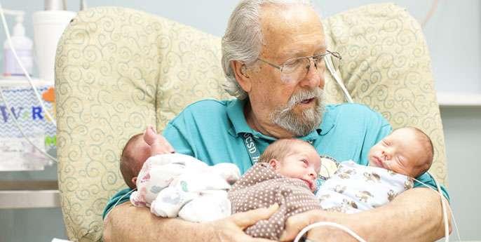 A baby blanket that helps preemies breathe