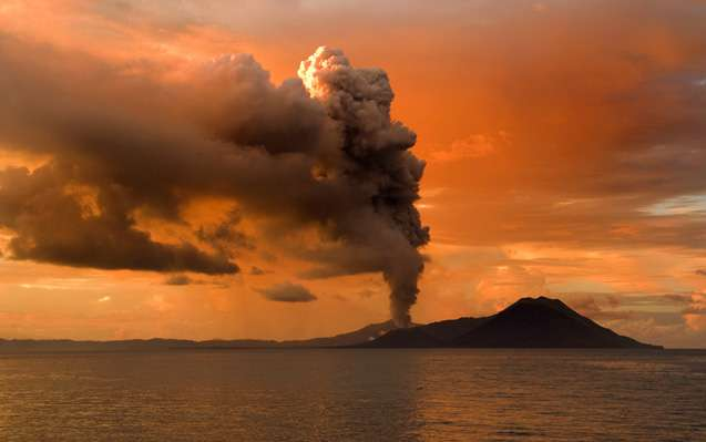 Accounting for volcanoes using tools of economics