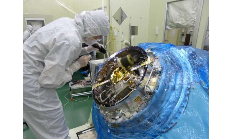 Advanced NASA-developed instrument flies on Japan's Hitomi