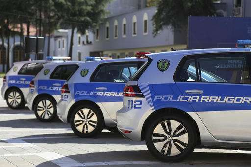 Police With Electric Cars But No Recharging Spots