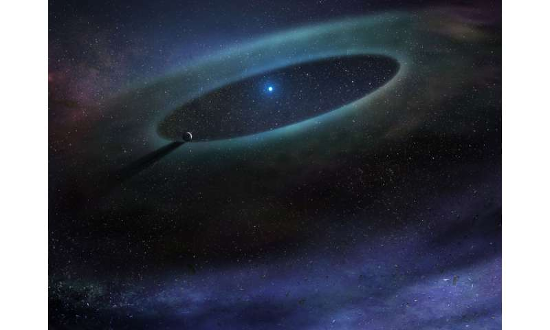 ALMA finds unexpected trove of gas around larger stars