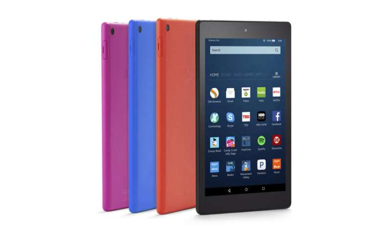 Amazon's Alexa voice assistant arrives on Fire tablets
