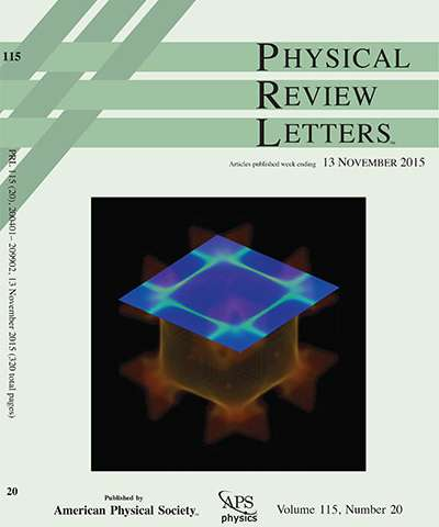 physical review letters ames laboratory scientist s calculation featured on cover 41072