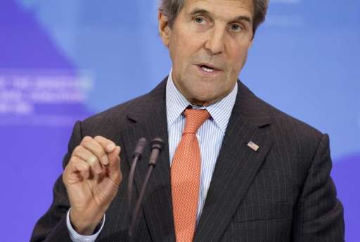 Among the 40 ministers expected at the high-level meeting on greenhouse gases in Rwanda is US Secretary of State John Kerry