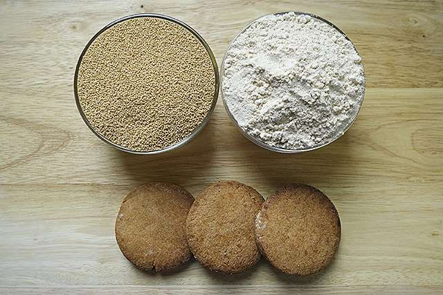 Ancient grains make healthful, tasty cookies