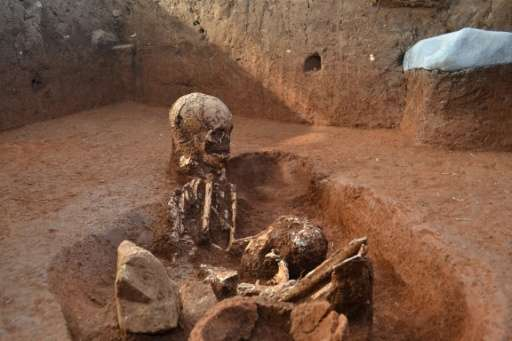 Ancient human remains and various burial practices at the Plain of Jars in Laos' central Xieng Khouang province