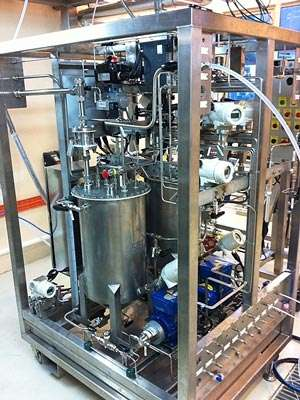 An entirely new way of manufacturing pharmaceutical and other valuable chemicals
