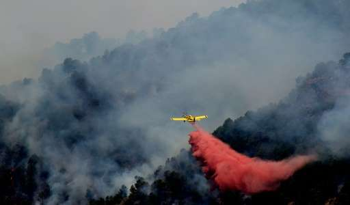 Spain calls in army as wildfire reaches nature reserve