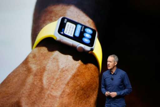 Apple COO, Jeff Williams, announces Apple Watch Series 2 during launch event in San Francisco