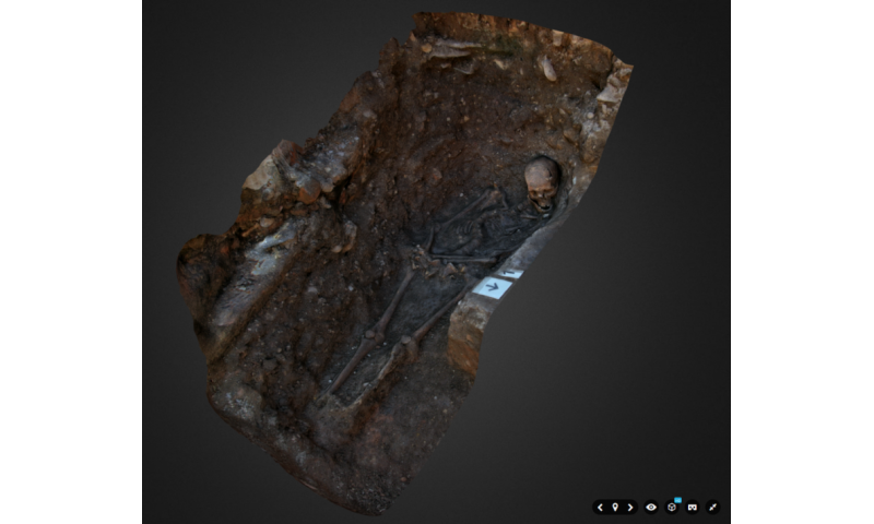 Archaeologists create 3-D interactive digital reconstruction