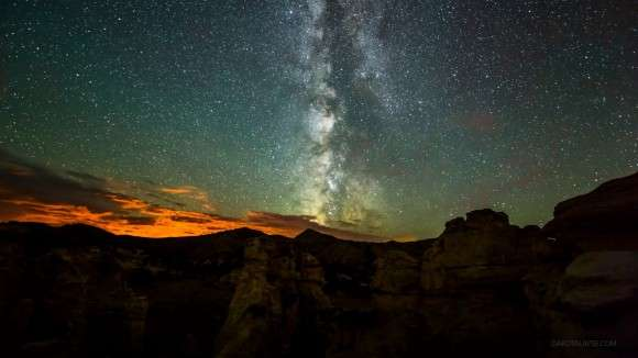 Milky Way seen from Wyoming